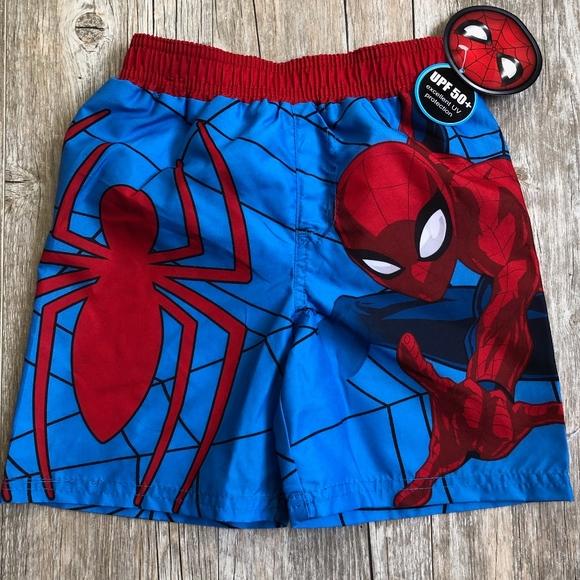 8ea8e9e1a4 Marvel Swim | Spiderman Boys Shorts Trunks Size 5t | Poshmark